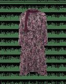 WONDROUS: Abito fluido con collo a volant in seta floreale