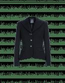 INFORM: Giacca in twill nero con pieghe posteriori