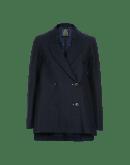 LIAISE: Swing back jacket in pinstripe