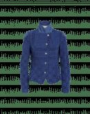 GIFTED: Kurze, blaue Jerseyjacke