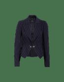 WISE: Edge-to-edge pinstripe jacket