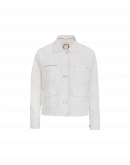 VENTURE: Off-white denim work jacket