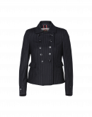 OPPOSE: Double breasted jacket in navy pinstripe