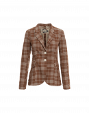 NIP-IN: Man's style jacket in checked cotton