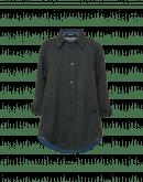 WIND CHILL: Cappotto oversize in twill bicolore