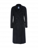 DIGNIFY: Navy cashmere mix coat