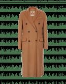 DIGNIFY: Cappotto color cammello in misto cashmere