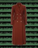 COMEBACK: Cappotto rosso mattone doppio petto