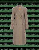 ACQUAINT: Cappotto doppio petto color avena