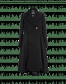 GUIDELINE: Cappotto lungo e ampio in twill e flanella