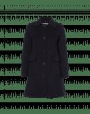 CYNIC: A-line double-face cashmere 3/4 coat