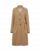 DOMINANT: 3/4 shaped camel coat