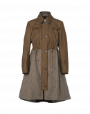 OUTRIGHT: Deconstructed parka overcoat