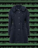 FORECAST: Cappotto gessato stile parka
