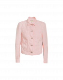 "PARITY: Pale pink ""jeans"" jacket"