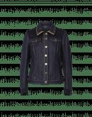 DISPATCH: Giacca in denim e feltro di lana