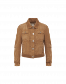 DECISIVE: Jeans style jacket in light brown twill