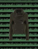 SHAMAL: Giacca con collo a scialle verde oliva scuro