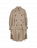 WINDWARD: Hi-Lo hitched-up trench coat