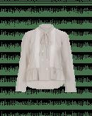LIKEWISE: Camicia rigata con chiusura doppia