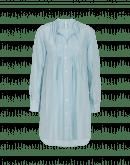 JOIN UP: Lange Bluse aus hellblauer Seide