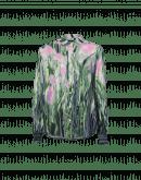 VIGOROUS: Camicia stampata in viscosa misto lana