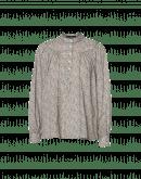 ROMANTIC: Camicia in cotone con fantasia floreale
