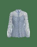 GALA: Camicia in georgette stampata