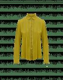 ROSALIND: Camicia in viscosa con nervature e nastro di pizzo