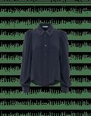 ACCLAIM: Camicia in crêpe de chine con colletto di perline