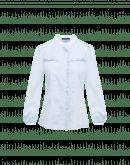 GALA: Camicia a quadri bianchi e blu con ruche