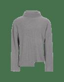 FABLE: Maglione a collo alto grigio chiaro