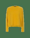 BLUFF: Maglia gialla in angora