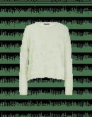 GLARE: Maglia verde pastello con pattern a rilievo
