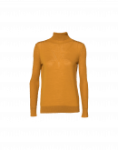 SEEK OUT: Saffron roll-neck sweater
