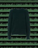 PLAYER: Moss green tech-knit crew neck sweater