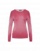 BRILLIANT: Maglia sfumata rosa chiaro
