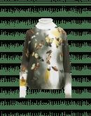 DESIRE: Maglia in cotone con stampa a farfalle