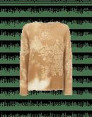 GLADDEN: Maglioncino in lana con stampa serigrafica