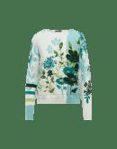 ATTENTIVE: Maglia in cotone con stampa floreale