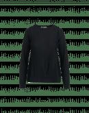 EMOTIVE: Maglioncino ad A in lana nera