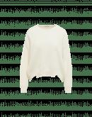 TAUNTING: Maglione in misto angora color avorio