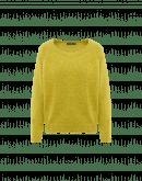 MURMUR: Maglioncino in misto angora verde lime