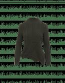 COMPASSION: Maglione con intreccio variegato verde militare