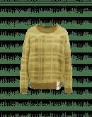 AMUSING: Maglione ampio con motivo quadrettato