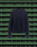 PARODY: Maglioncino blu con intrecci variegati