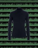 MAGIC: Navy roll neck top