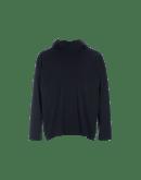 TENTATIVE: T-shirt blu con cappuccio