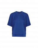 PERSONA: Blue shaped cotton t-shirt