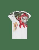 ADMIRATION: T-shirt con stampa botanica